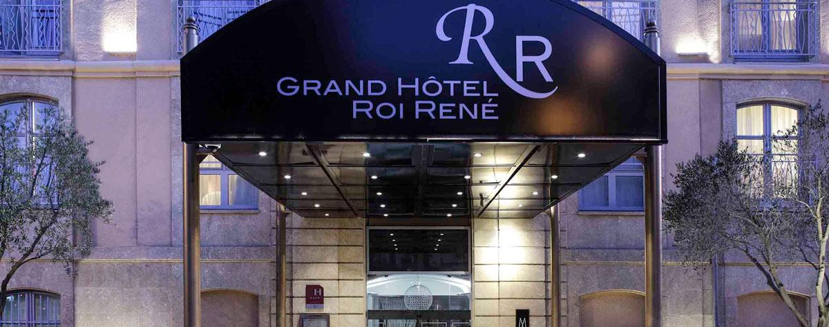 MTEV et HTP - Aix-en-Provence Hôtel Roi René